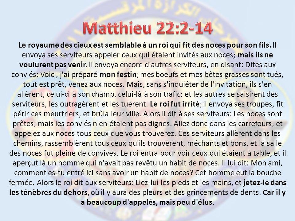 Matthieu 22:2-14