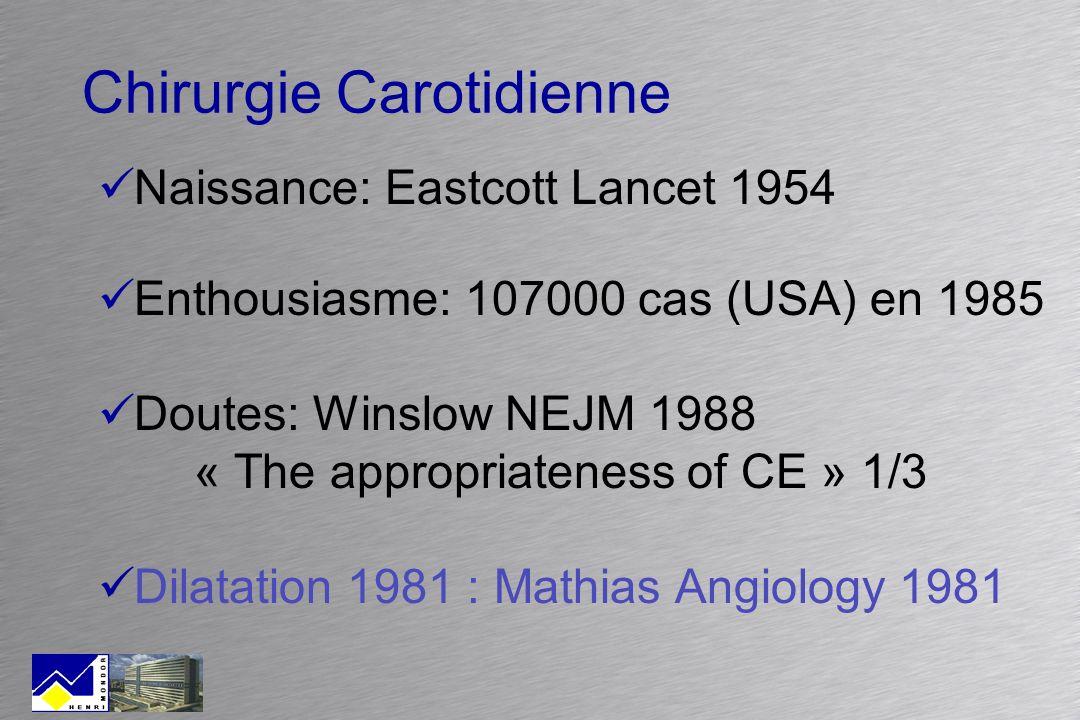 Chirurgie Carotidienne
