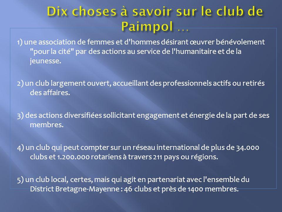 Dix choses à savoir sur le club de Paimpol …