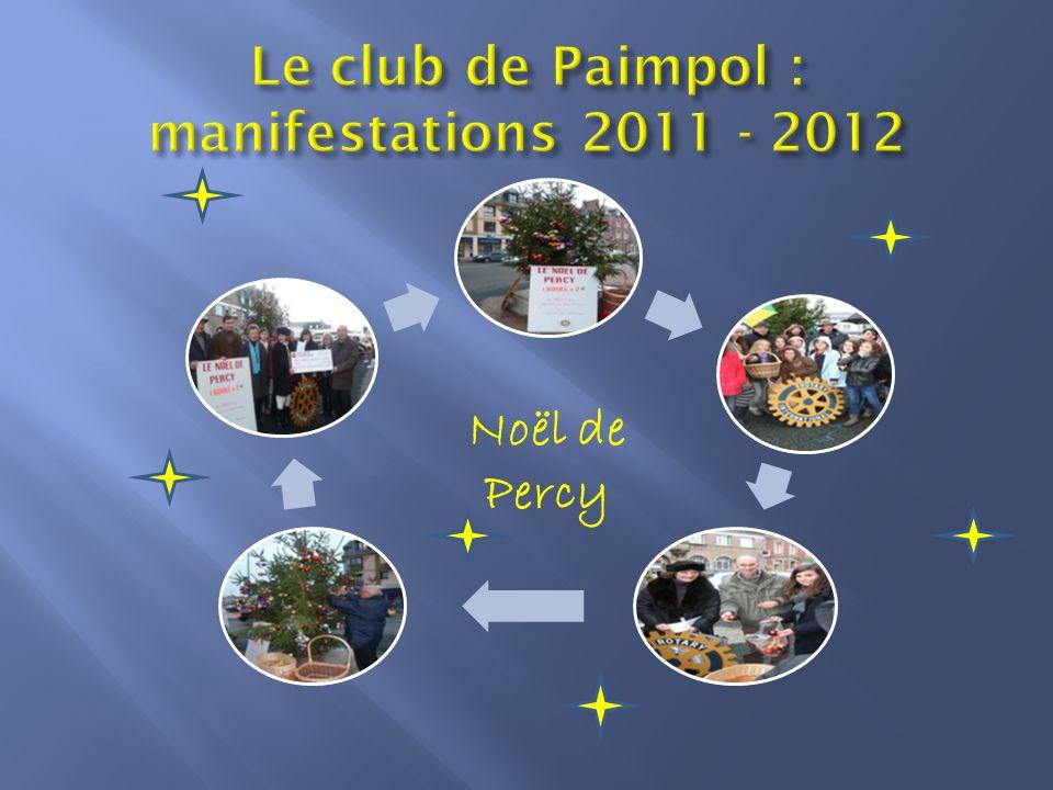 Le club de Paimpol : manifestations 2011 - 2012