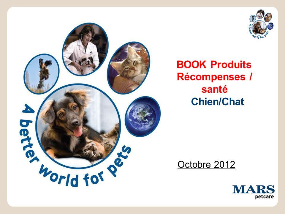 BOOK Produits Récompenses / santé Chien/Chat