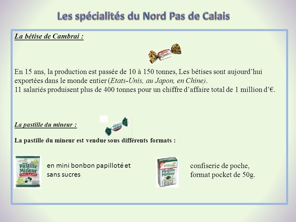 Les spécialités du Nord Pas de Calais