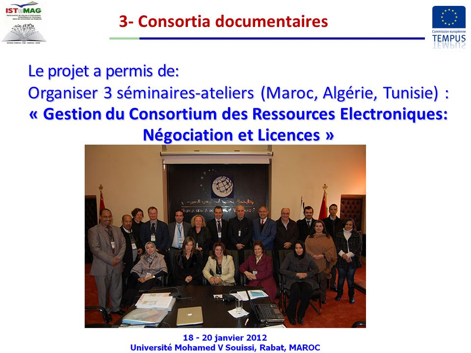 3- Consortia documentaires