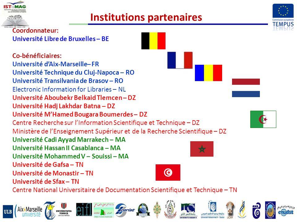 Institutions partenaires