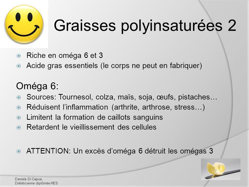 Graisses polyinsaturées 2