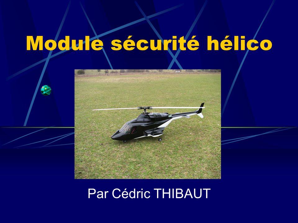 Module sécurité hélico