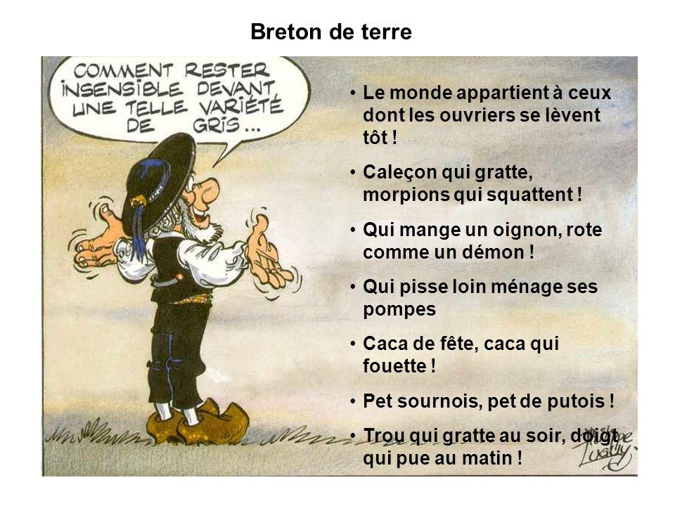 Breton de terre Le monde appartient à ceux dont les ouvriers se lèvent tôt ! Caleçon qui gratte, morpions qui squattent !