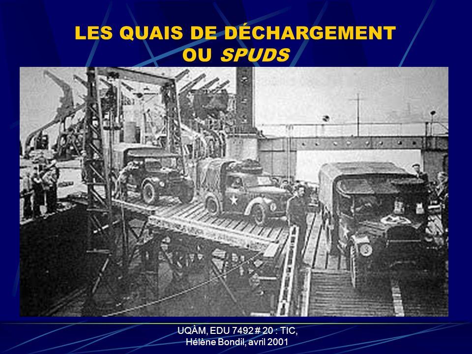LES QUAIS DE DÉCHARGEMENT