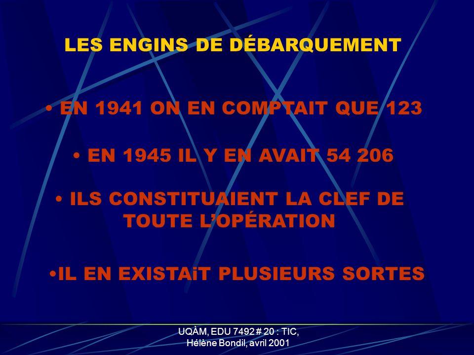 ILS CONSTITUAIENT LA CLEF DE TOUTE L'OPÉRATION