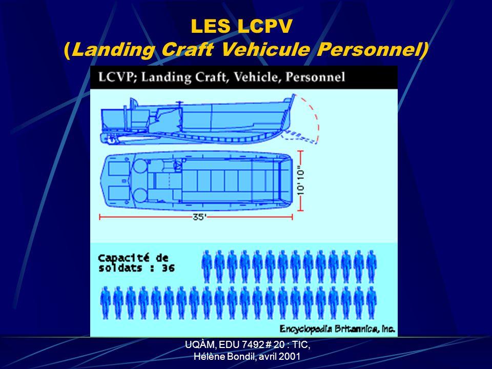 (Landing Craft Vehicule Personnel)