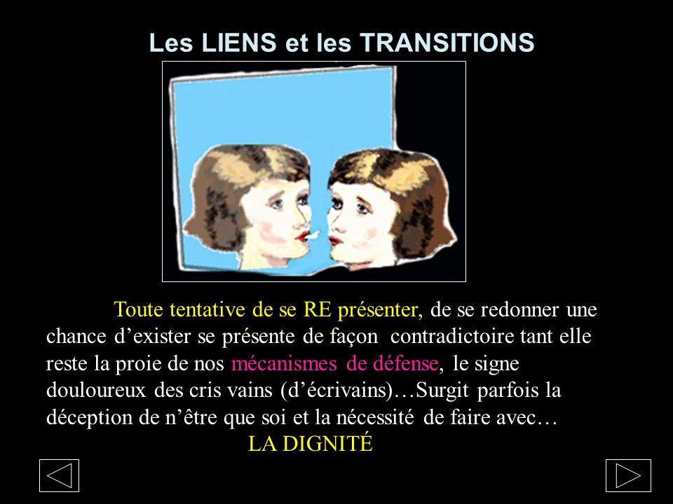 Les LIENS et les TRANSITIONS
