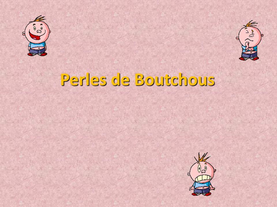 Perles de Boutchous