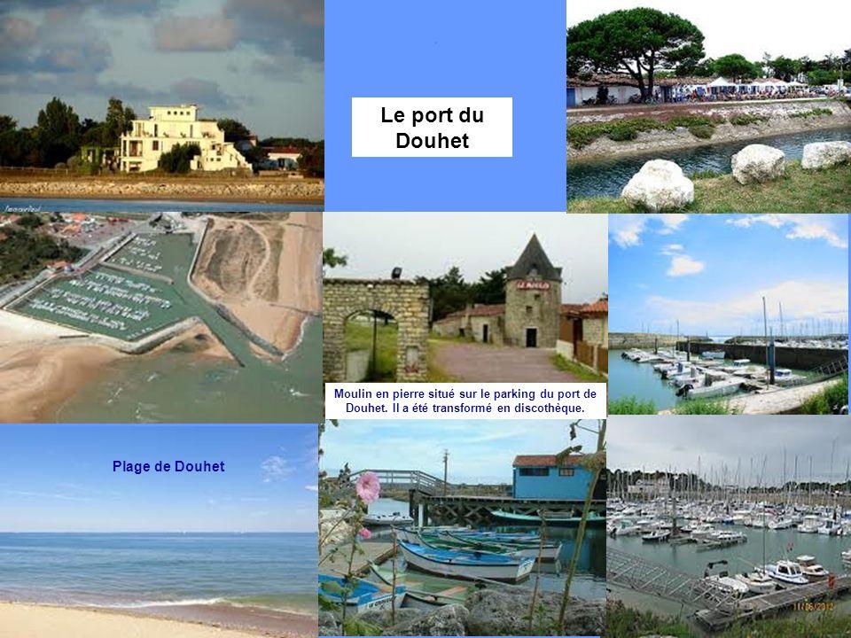 Le port du Douhet Plage de Douhet