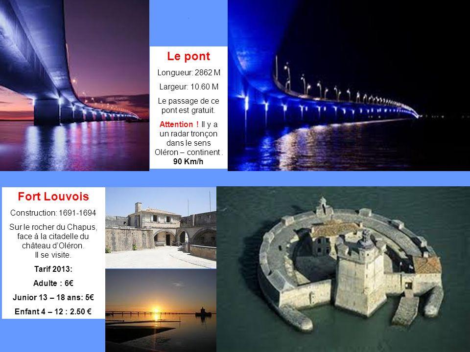Le passage de ce pont est gratuit.
