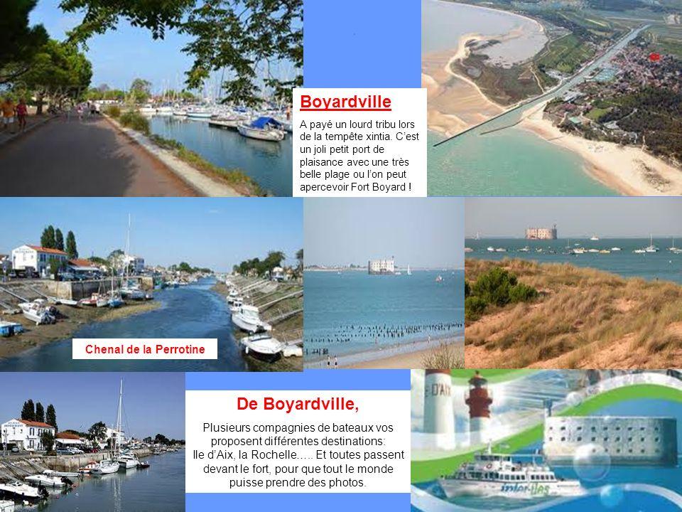 Boyardville De Boyardville, Chenal de la Perrotine