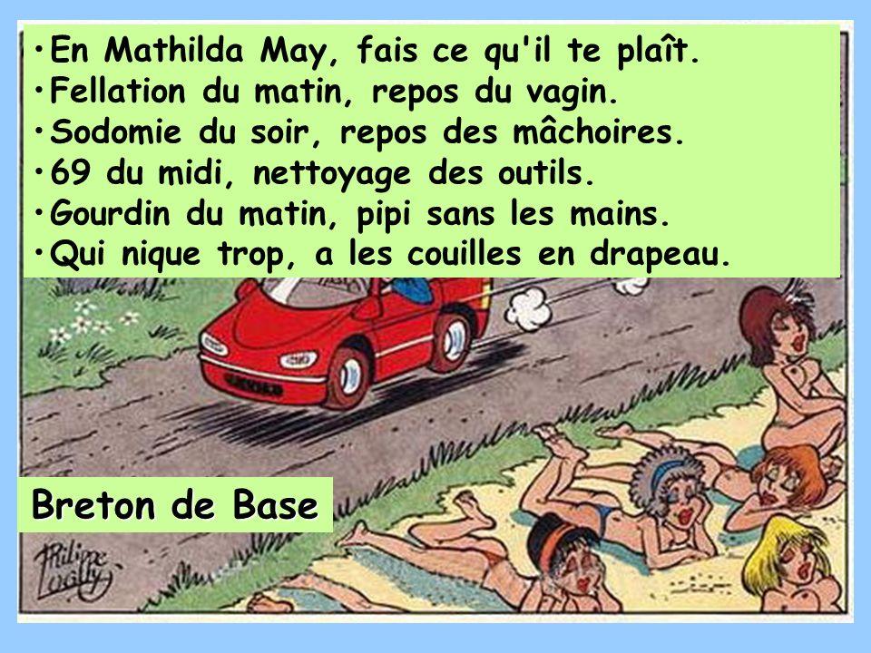 Breton de Base En Mathilda May, fais ce qu il te plaît.