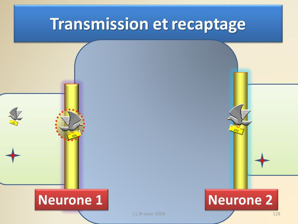 Transmission et recaptage
