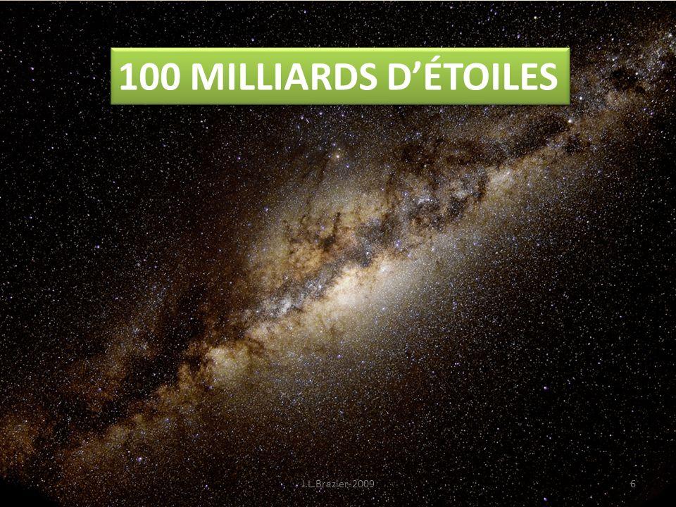 100 MILLIARDS D'ÉTOILES J.L.Brazier-2009