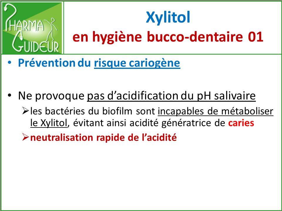 Xylitol en hygiène bucco-dentaire 01