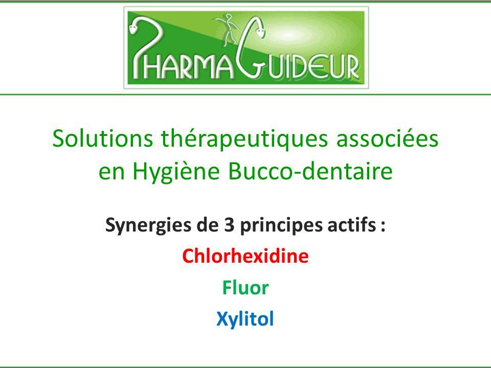 Solutions thérapeutiques associées en Hygiène Bucco-dentaire