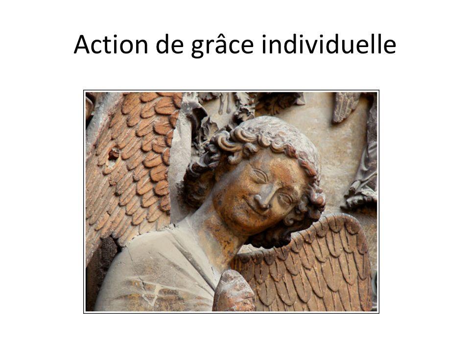 Action de grâce individuelle