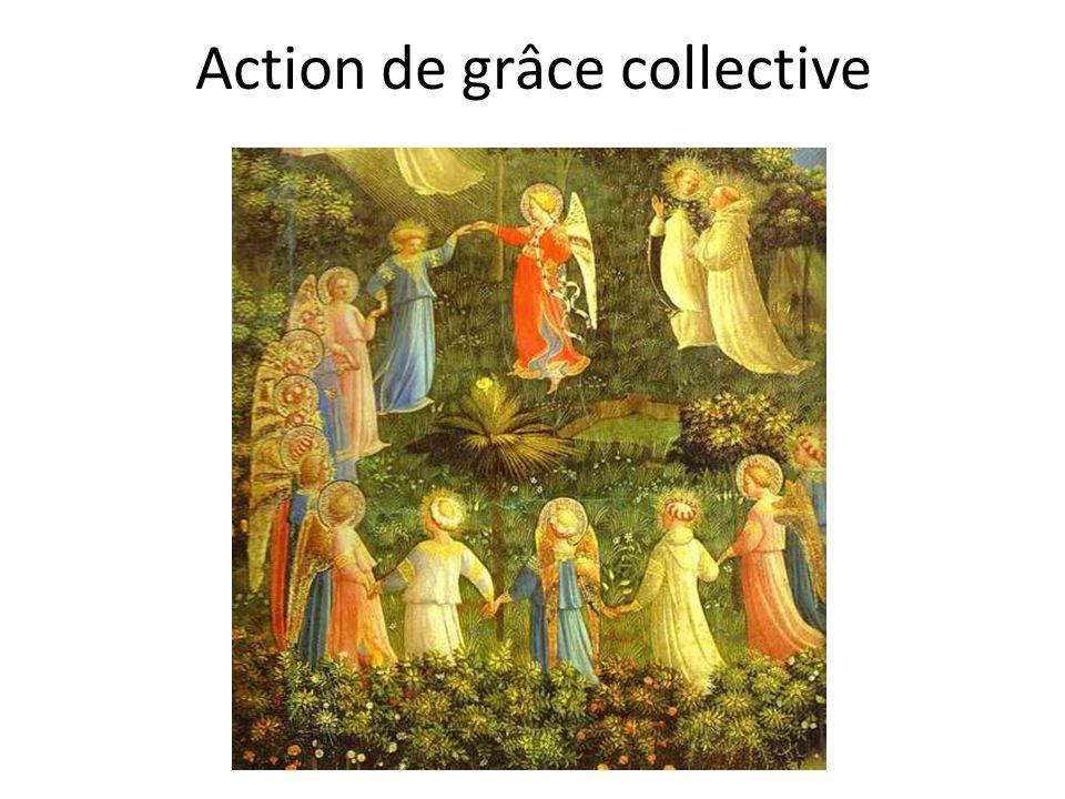 Action de grâce collective