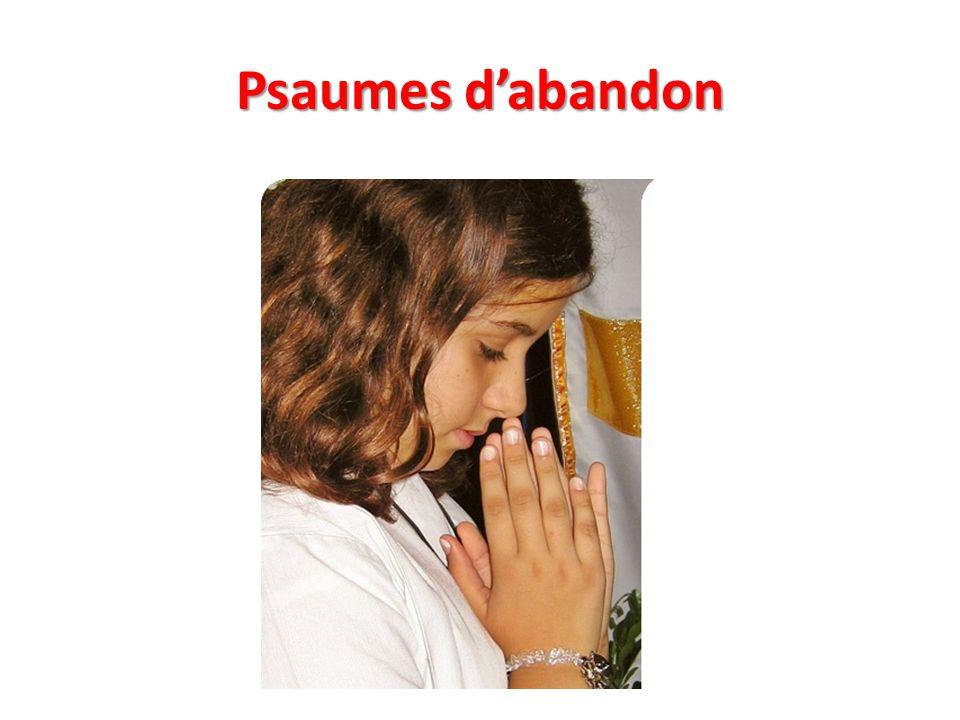 Psaumes d'abandon