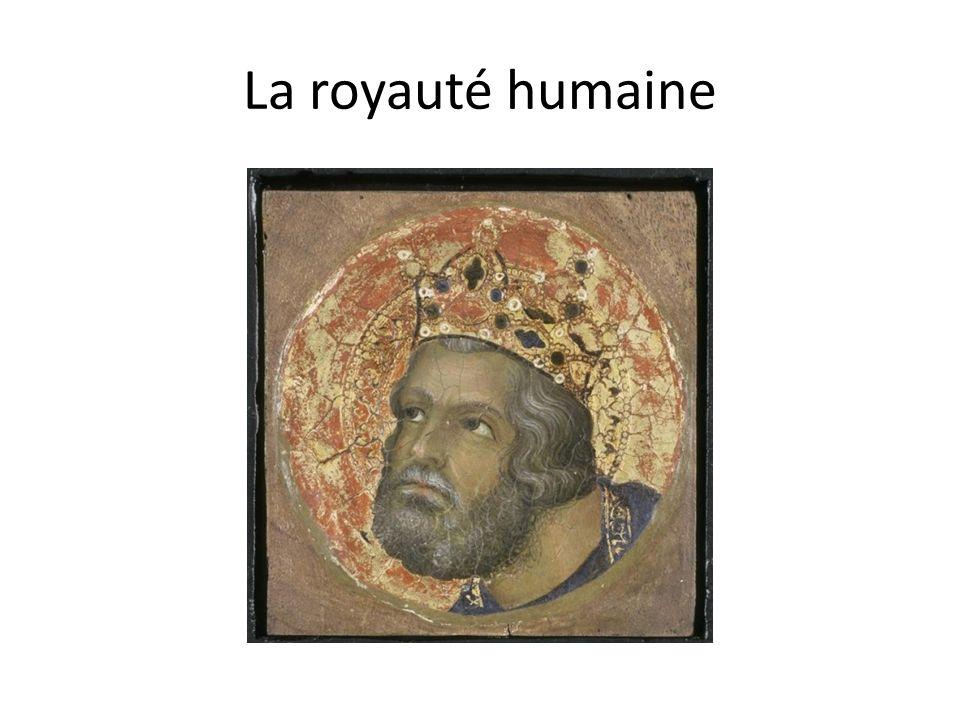 La royauté humaine