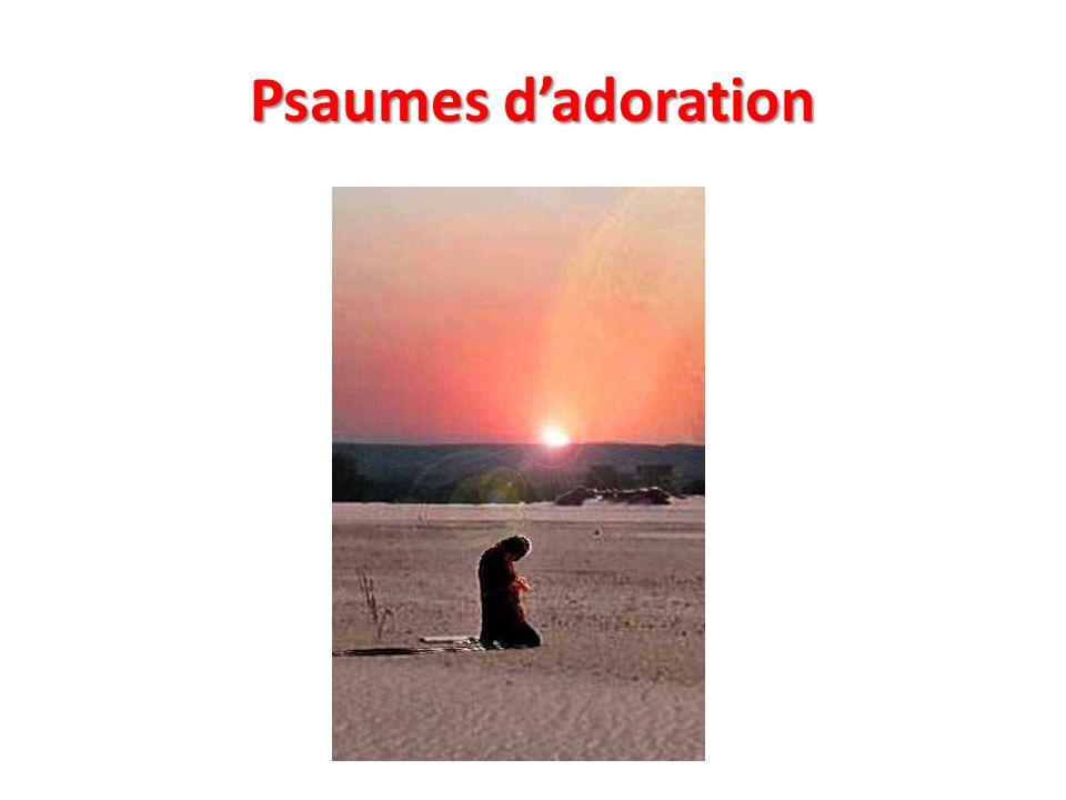 Psaumes d'adoration