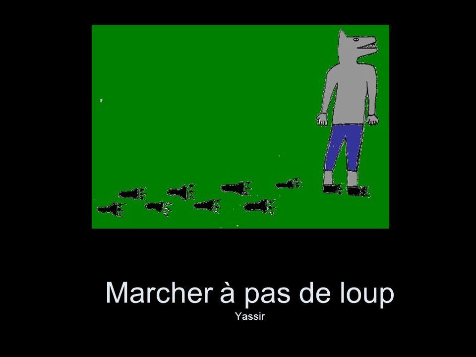 Marcher à pas de loup Yassir