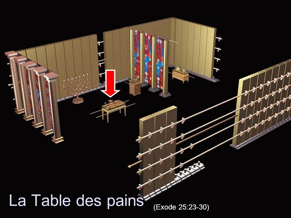 La Table des pains (Exode 25:23-30)