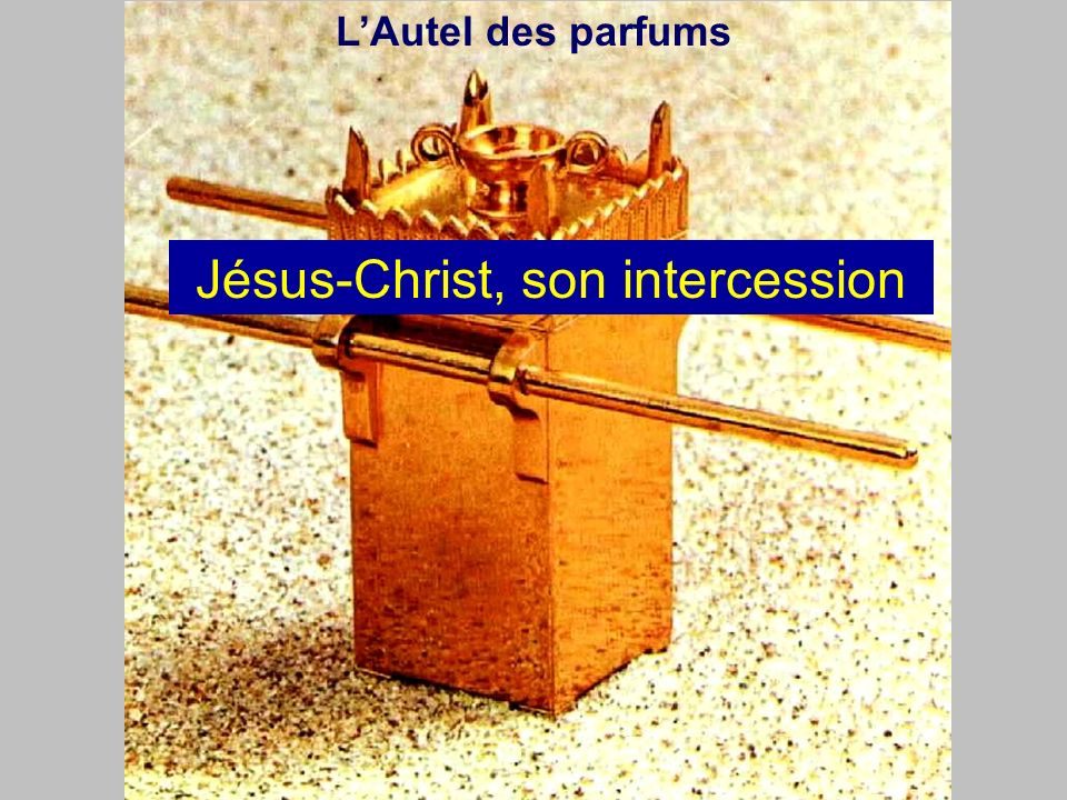 Jésus-Christ, son intercession