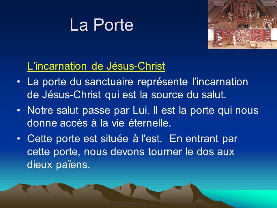 La Porte L'incarnation de Jésus-Christ