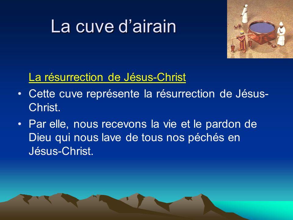 La cuve d'airain La résurrection de Jésus-Christ