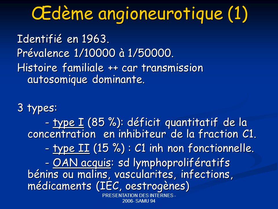 Œdème angioneurotique (1)