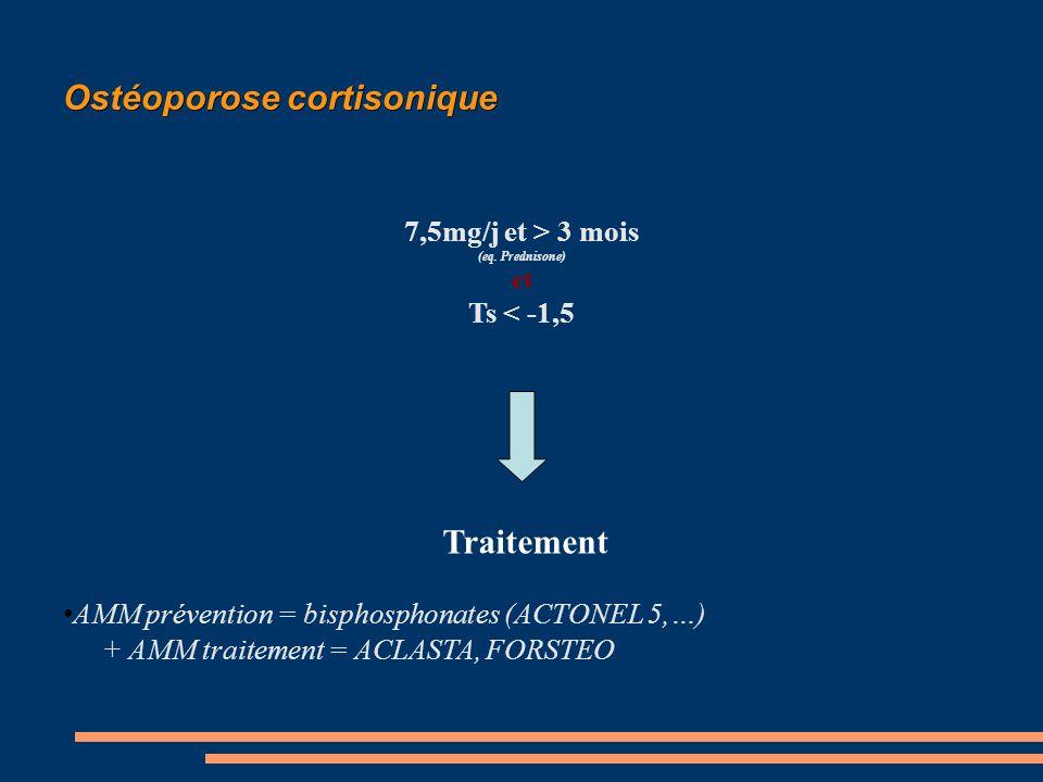 Ostéoporose cortisonique
