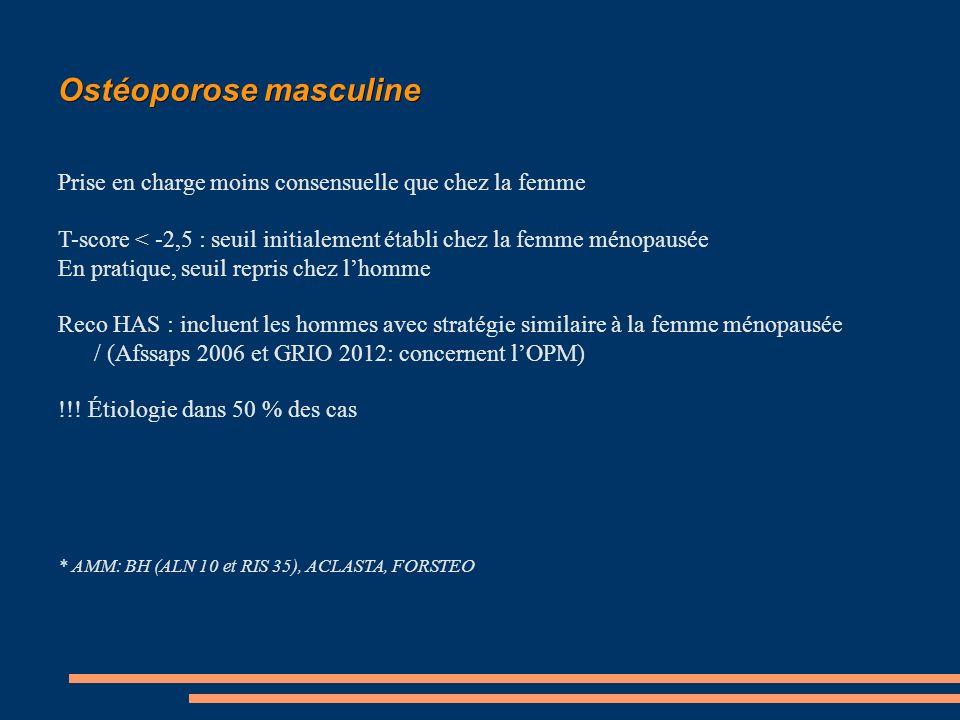 Ostéoporose masculine