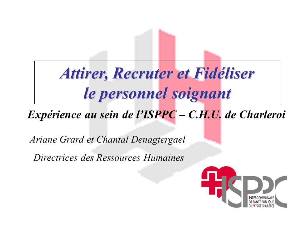Expérience au sein de l'ISPPC – C.H.U. de Charleroi