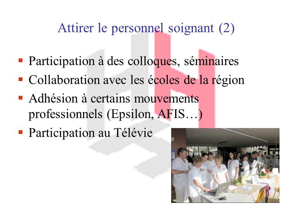 Attirer le personnel soignant (2)