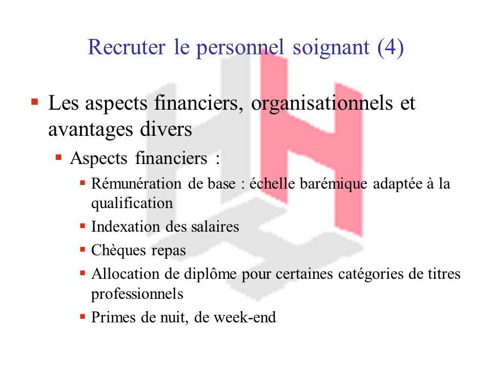 Recruter le personnel soignant (4)
