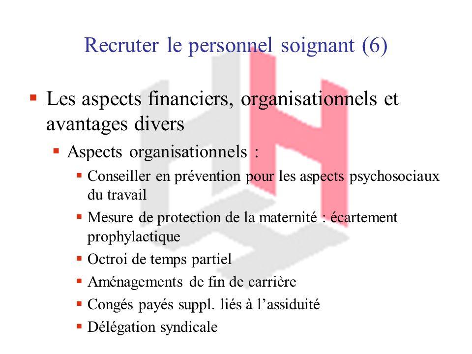Recruter le personnel soignant (6)