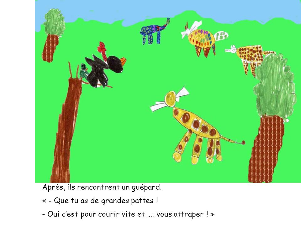 La classe de grande section de maternelle ppt video for As tu un animal a la maison