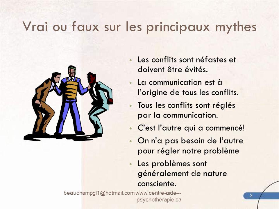 Vrai ou faux sur les principaux mythes
