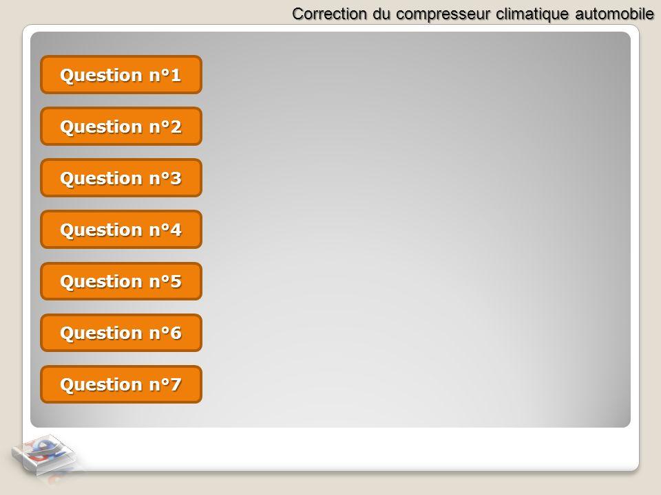 Question n°1 Question n°2 Question n°3 Question n°4 Question n°5 Question n°6 Question n°7