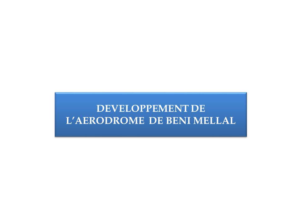 DEVELOPPEMENT DE L'AERODROME DE BENI MELLAL