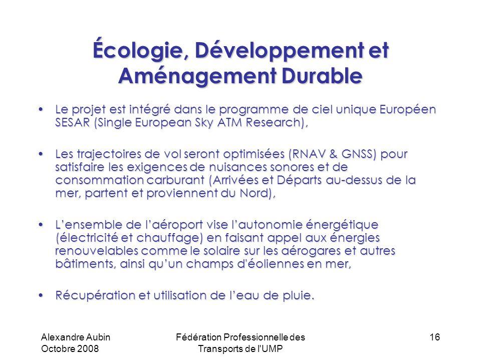 Écologie, Développement et Aménagement Durable