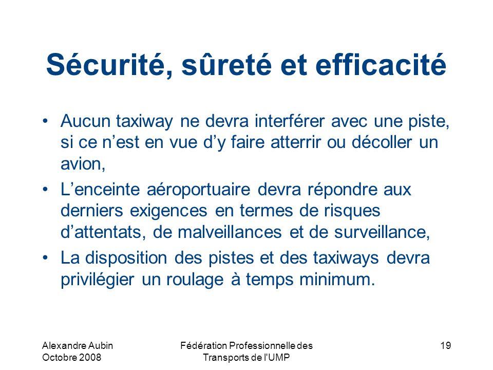 Sécurité, sûreté et efficacité