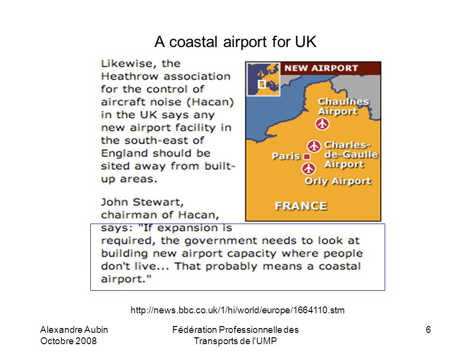 A coastal airport for UK