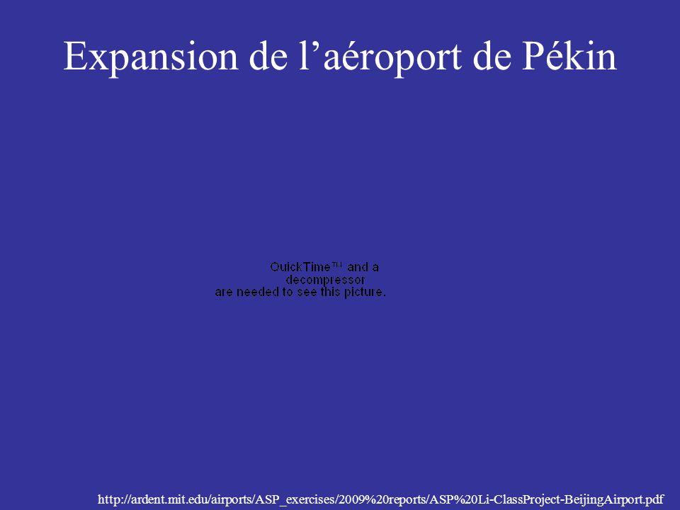 Expansion de l'aéroport de Pékin