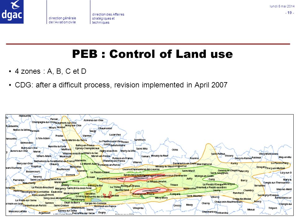 PEB : Control of Land use
